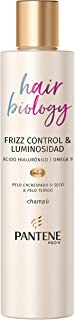 Pantene Pro-v Hair Biology Frizz Control & Luminosità Shampoo Ml, Per Capelli Ricci O Secchi E Tinti, Fresco, 250 Millilitro