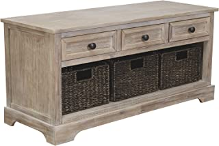 Ashley Furniture Signature Design Oslember Storage Bench,...