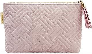 کیف لوازم آرایشی و بهداشتی برای زنان ، BAGSMART 2 عدد کیف لوازم آرایشی کوچک کیف مسافرتی کیف لوازم آرایشی و بهداشتی برای برس های آرایشی رژ لب لوازم لوازم الکترونیکی (صورتی-1 عدد)