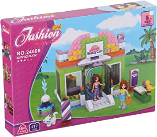 Ausini Fashion Girls House Construction Toy For Kids, 277 Pieces - Multi Color