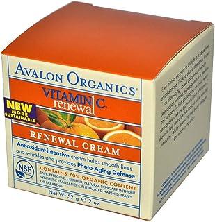 كريم فيتامين سي Avalon Organics, Vitamin C Renewal Cream 57 g