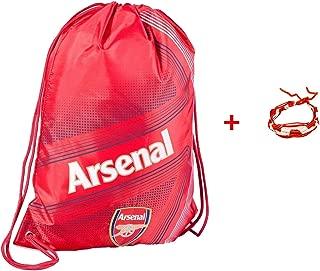 Arsenal Cinch Bag Sack Backpack Book Bag Drawstring Futbol Soccer ARS1