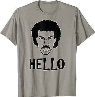 lionel richie hello shirt
