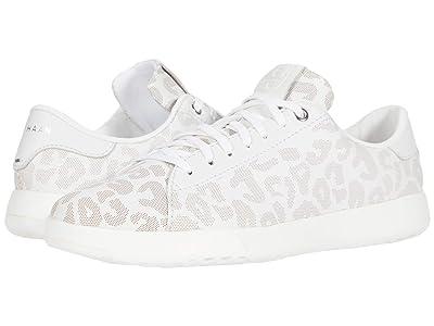 Cole Haan GrandPro Tennis Sneaker (White Leapoard Perf Print) Women
