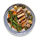 Amazon Meal Kits, Roasted Pork Medallions with Salt-Crusted Potatoes and Broccolini, Serves 2