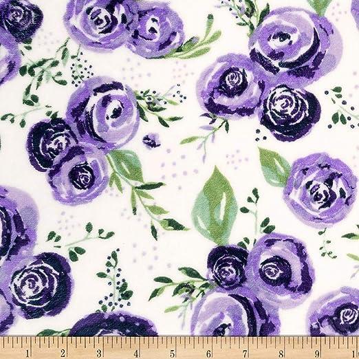 5860 Rosie Cuddle\u00ae Blush From Shannon Fabrics Cuddle Print Fabrics Minky Fabric Shannon Fabrics MINKY