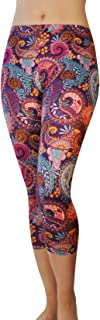 featured product Comfy Yoga Pants - Workout Capris - High Waist Workout Leggings for Women - Lightweight Printed Yoga Legging