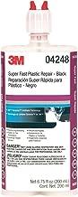 3M 04248 Black Super-Fast Repair Adhesive - 200 ml
