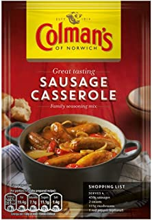 Colman's Sausage Casserole Mix - 39g - Pack of 8 (39g x 8)
