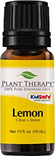Plant Therapy Lemon Essential Oil | 100% Pure, Undiluted, Natural Aromatherapy,..