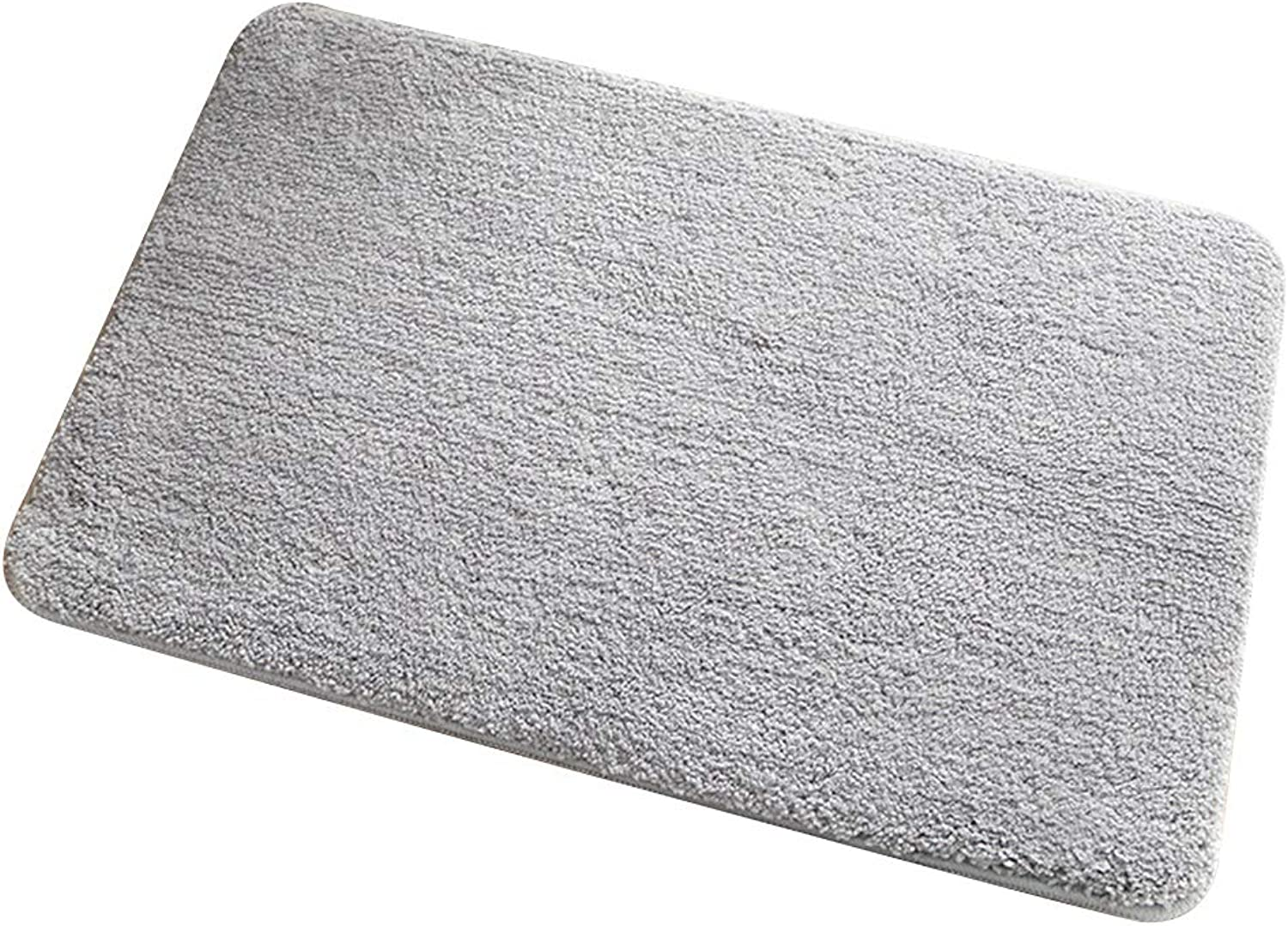 MING REN Floor mat - Fiber Fabric, Soft and Thick, Non-Slip Water Absorption, Good Breathability, Comfortable to Touch, Rectangular Home Lambskin Fiber Bathroom Bedroom Water Absorption Hall Door mat