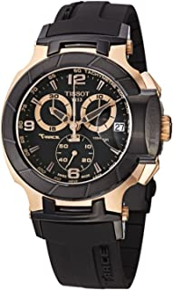 Men's T-Race Chronograph - T0484172705706 Black/Black One Size