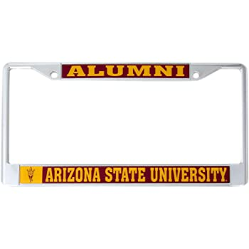 NCAA Arizona State Sun Devils License Plate Frame Alumni