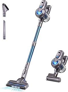 Greenote Cordless Vacuum Cleaner, 23000PA Stick Vacuum 4 in 1, 200W with Dual Digital Motor LED Headlights, 35 Mins Runtim...