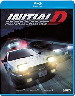 Initial D Legend: Theatrical Collection [Edizione: Stati Uniti] [Italia] [Blu-ray]