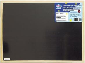 Decor Service Wandkrijtbord, hout, natuur, 60 x 90 cm