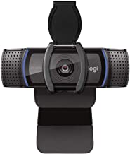 Logitech C920S HD Pro Webcam with Privacy Shutter – Widescreen Video Calling and..