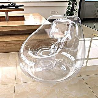 Uppblåsbar stol Lazy air Soffa Kvinna Liten Enkel Populär Kudde Stol Balkong Fritids Stol Uppblåsbar soffa