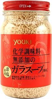 ユウキ 化学調味料無添加のガラスープ 130g