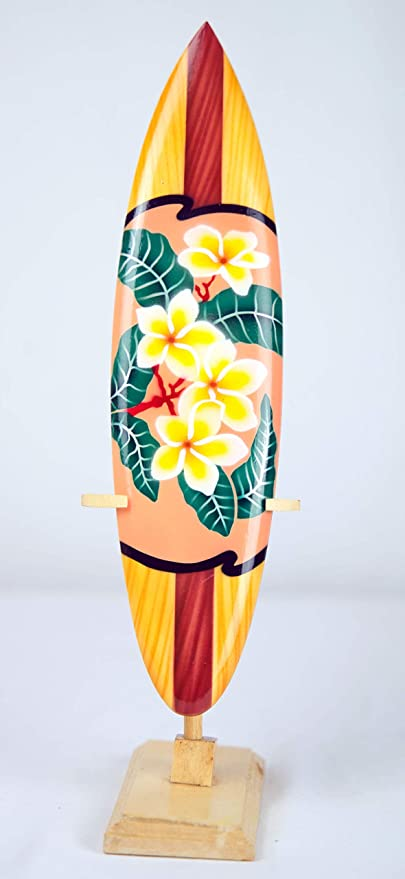 Asia Design Tavola Da Surf In Miniatura Con Supporto In Legno Decorazione N 11 20 Cm Amazon It Casa E Cucina