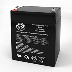 Suncast PW100 12V 5Ah Lawn and Garden Battery - This is an AJC Brand Replacement