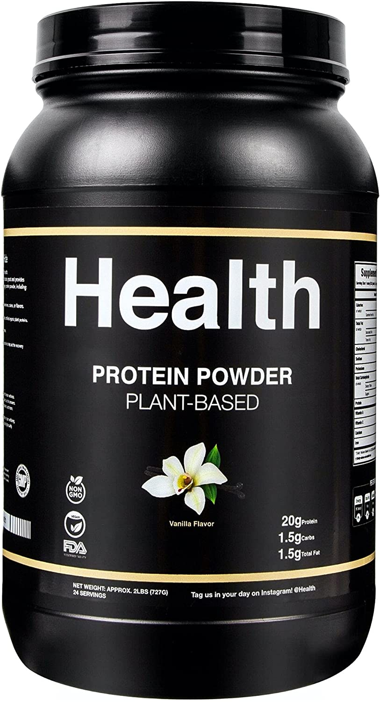 Health® Protein Powder Plant-Based Max 74% OFF Vanilla - Kansas City Mall Probiotics with
