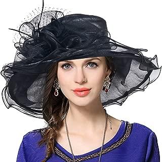 Women's Church Derby Dress Fascinator Bridal Cap British Tea Party Wedding Hat
