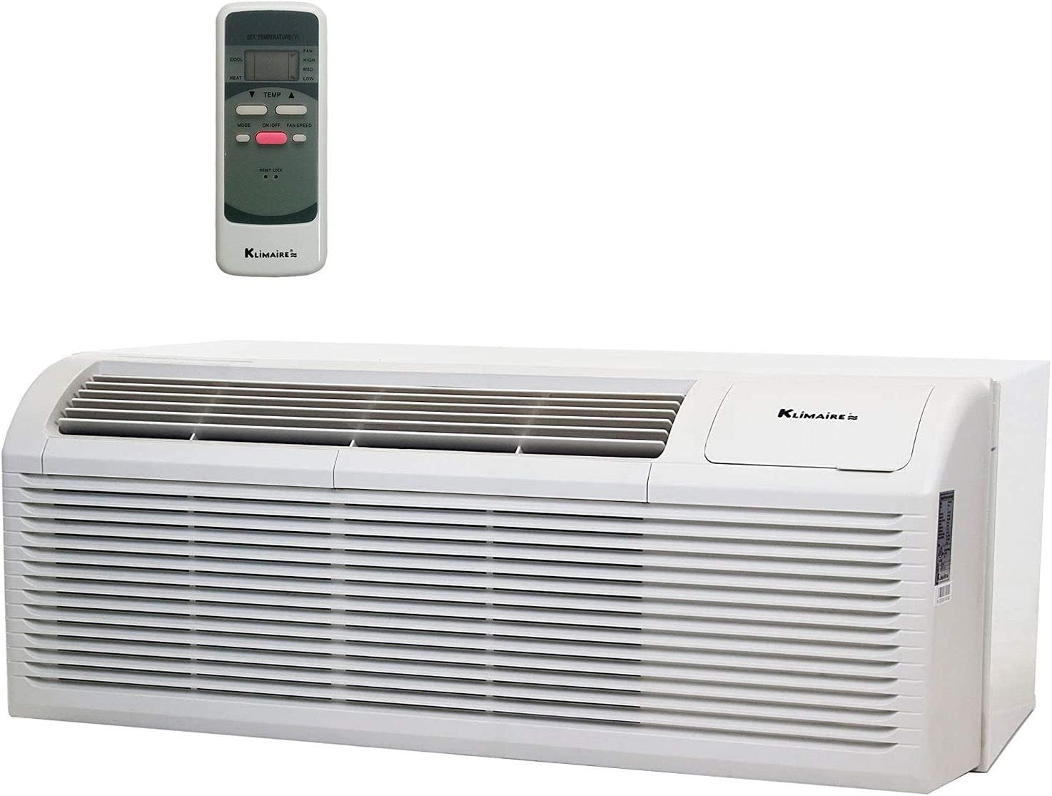 KLIMAIRE 12 000 BTU 11.6 EER Pump Sale item PTHP Air Heat Superlatite with Conditioner