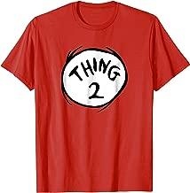 Dr. Seuss Thing 2 Emblem RED T-shirt