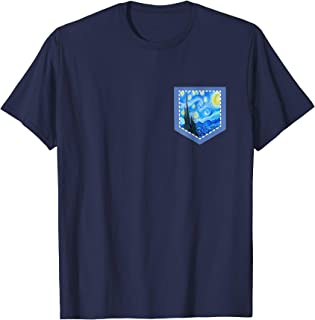 Best starry night pocket tee Reviews
