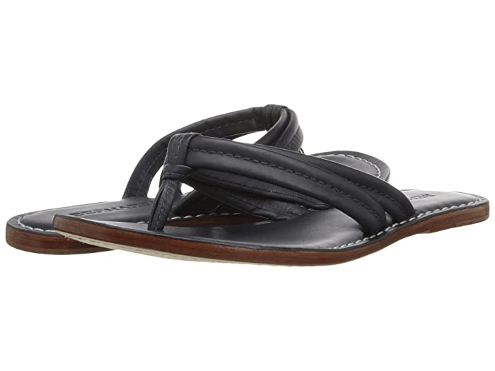Bernardo  Miami Sandal (Navy Nappa/Navy Nappa) Womens Sandals