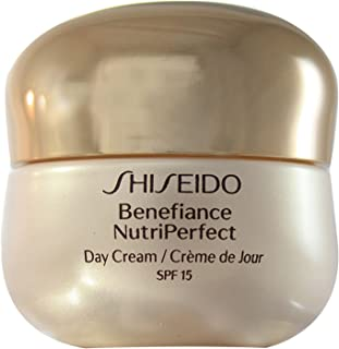 Benefiance Nutriperfect Day Cream Spf 15 Anti-Aging Face Cream 50 Ml by Shiseido