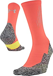 Adult Run Cushion Reflective Crew Sock for Men and Women (1-Pair)