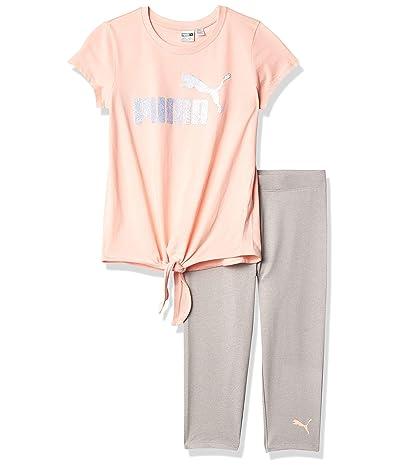 PUMA Graphic T-shirt Performance Capri Legging Set