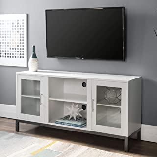 WE Furniture Modern Stand Cabinets for TV's up to 56