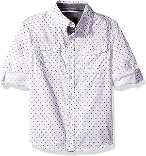 LEE 男孩小长袖纽扣衬衫