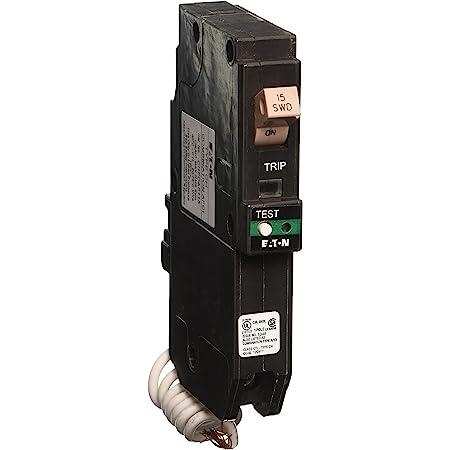 Eaton BRN115AF 15A 1P 120//240V 10 kAIC Combination AFCI Circuit Breaker for sale online