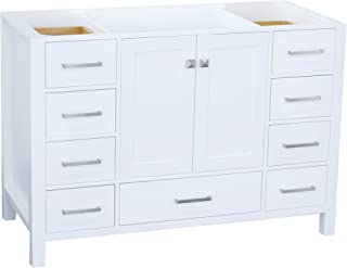 Best 48 white vanity cabinet Reviews
