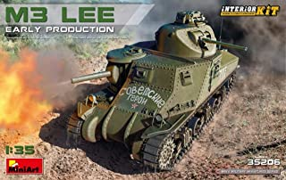 NEW MINIART MIN35206 M3 Lee Early Production Interior Kit 1:35 MODELLINO Model