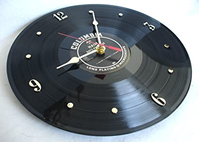 """ITS OUR EARTH HAIM Recycled Vinyl Record Clock – Days Are Gone"""" (2013)"""