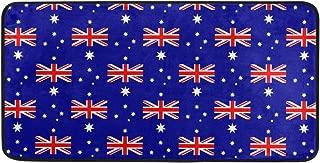 Australia Flag Pattern Kitchen Mat Anti Fatigue Runners Area Rug Pads 39