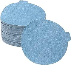 Sungold Abrasives 68308 Kassteel Blue PSA Sticky Back 120 Grit Stearated Aluminum Oxide C-Weight Paper Sanding Discs 100 Pack, 5