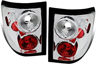 DNA Motoring CLOSE-TLZ-F150-0405-FR Altezza Style Tail Light Chrome [For 04-08 Ford F150 Flareside]