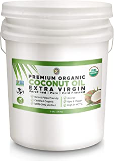 Earth Circle Organics Coconut Aminos - 5 Gallon | Pure | Organic Soy Sauce Alternative | Vegan & Gluten-Free | Kosher Certified