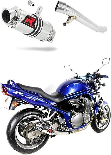 GSF 600 Bandit Pot d'échappement GP I Silencieux Dominator Exhaust Racing Slip-on 2000 2001 2002 2003 2004