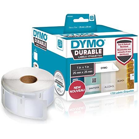 13x25mm InkJello Compatibile Rotoli Etichette Sostituisci per Dymo Tapewriter LW310 LW320 LW330 LW400 LW450 Twin Duo 4XL 11353 bianca, 2-Pack S0722530