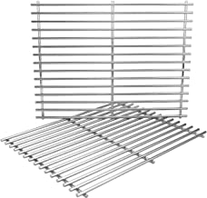 Uniflasy Grill Cooking Grates for Charbroil 466446015, 466446115, 463241113, 463411512, 463449914, Nexgrill 720-0719BL, 720-0773, Master Forge 1010037, Broil King Baron 320, Kenmore 122.16134110 Grill