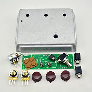 New Diecast Aluminum Overdrive Effects Pedal Project Box Enclosed Case with klon PCB and parts