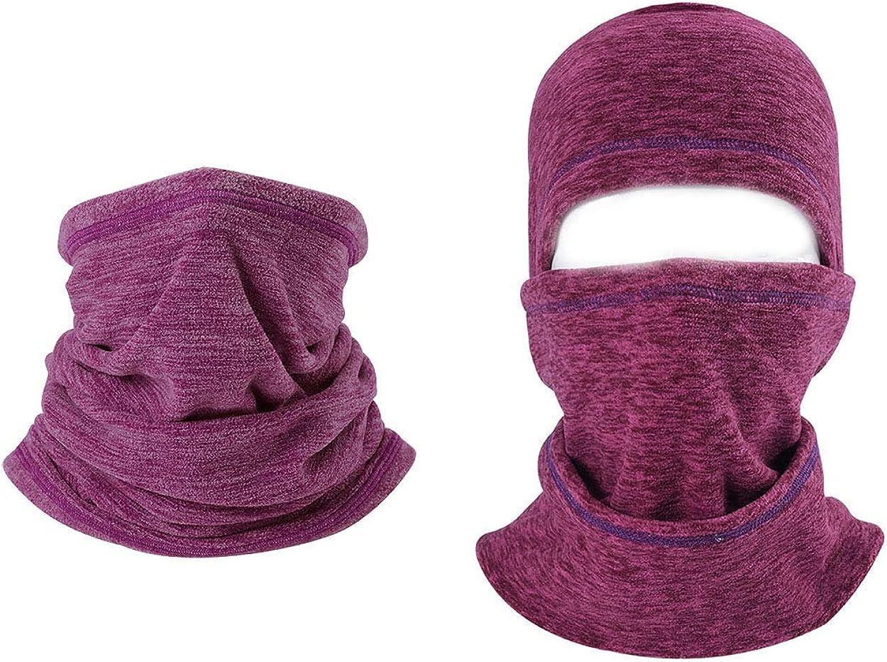 ba knife Balaclava - Cold Weather Face Mask - Windproof Mask for Men Women 2 Pcs