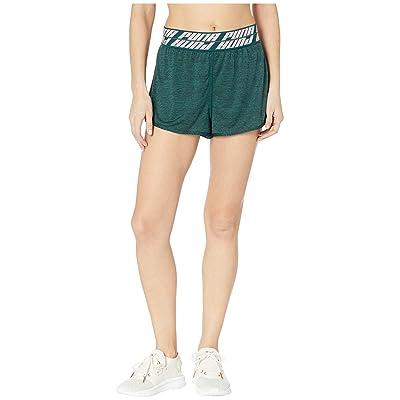 PUMA Own It 3 Shorts (Ponderosa Pine Heather) Women